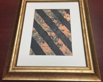 13x11 Acrylic on Flat Canvas Framed Art