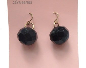faceted earrings - FREE DOMESTIC SHIPPING