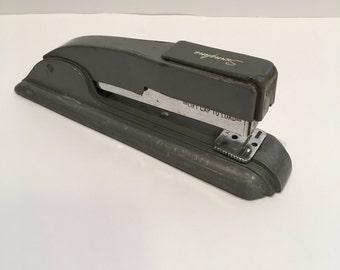 Swingline Stapler, Metal Stapler, Grey Stapler, Gray Stapler, Vintage Stapler