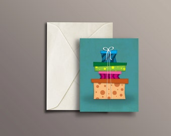 """Gifts Blank Greeting Cards, 4"""" x 5"""""""