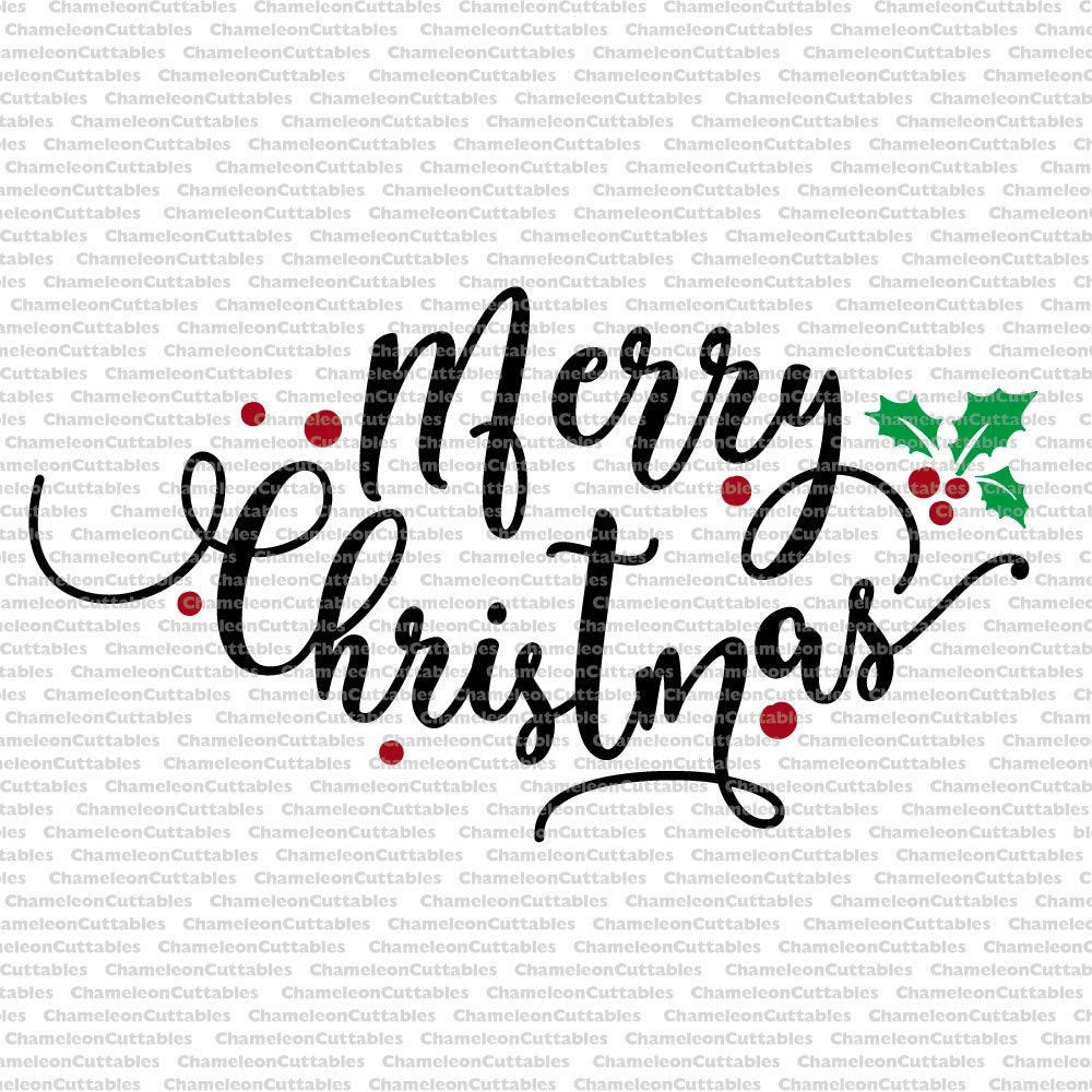 Download Merry Christmas, svg, cut, file, vector, silhouette ...
