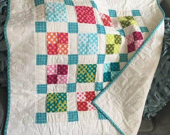 Dots Baby Quilt