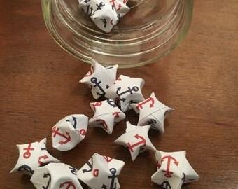 100 Anchor Origami Stars