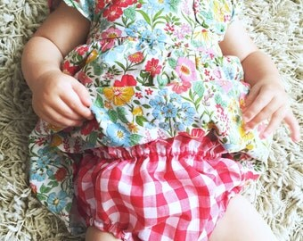 Classic Bloomers in red gingham