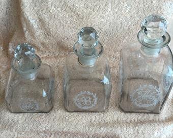Vintage Bath Jars