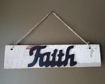 Barnwood Faith inspirational sign
