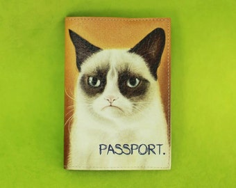 Cover on the passport
