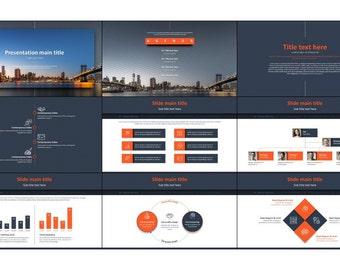 creative simple business PowerPoint presentation template
