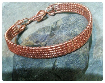 Fine viking weave bracelet.