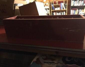 Red Indoor/Outdoor Planter Box
