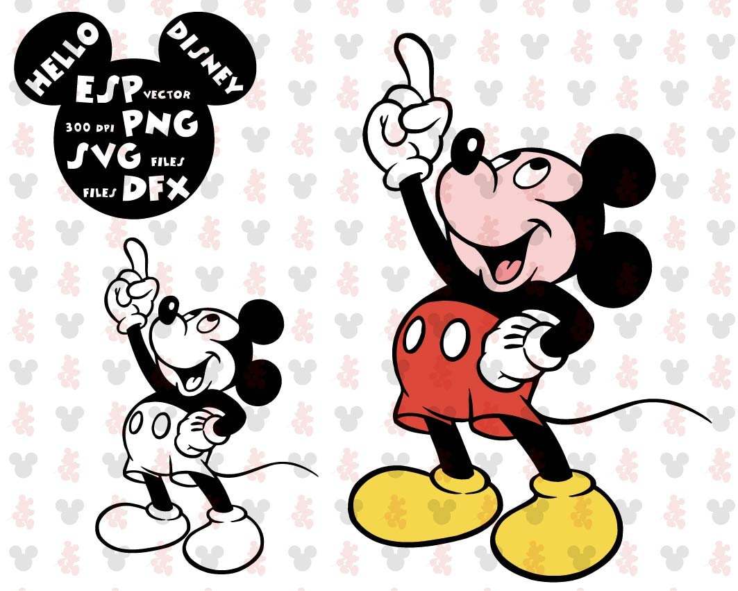 Disney Svg Mickey Mouse Clipart Disney - Cut files - Mouse ...