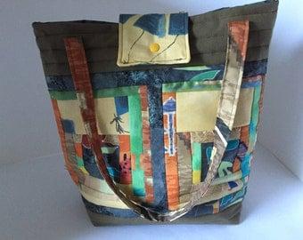 Tote shoulder bag Tote patchwork shoulder bag
