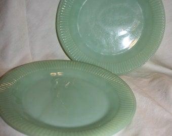 Jadeite luncheon Plates