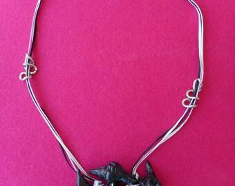 Ethnic necklace amulets