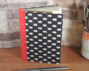 Black white note book A6 - / / Blankobuch / / gift for you / / gift for him / / entries / / notes / / communication