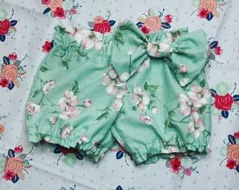 vintage magnolia bow bloomers