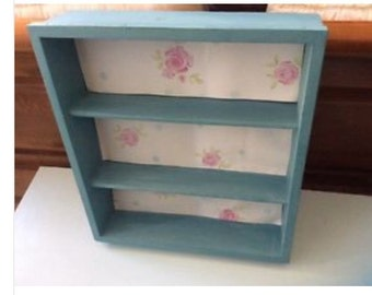Small shelf display unit ideal for girls bedroom