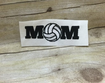 Volleyball Mom  Embroidery Design, Volleyball  Embroidery Design