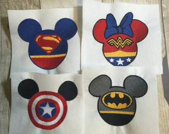 Mickey Mouse Super Heros Embroidery Design Package,