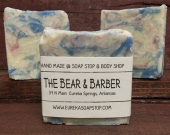 The Bear & Barber Handmade Hot Process Soap - One Bar