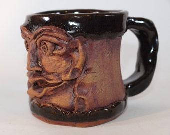Black Face Mug #23