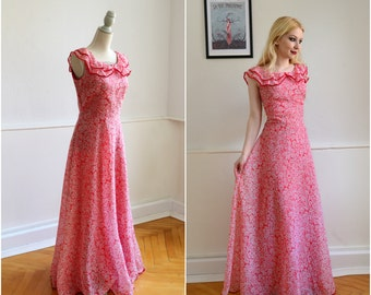 "Vintage dress ""FOREVER"" - Boho, hippie, 70, S"
