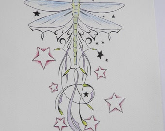dragonfly tattoo image