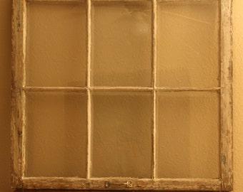Large Vintage Window Stargazing Mural