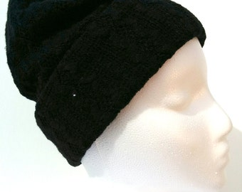 Toque knit fabrics / wool hat knit fabric