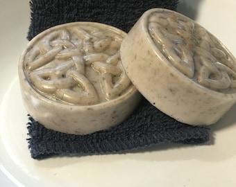 Handmade Lavender goats milk soap