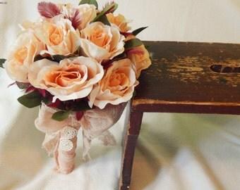 Romantic Handmade Wedding/Bridesmade bouquet
