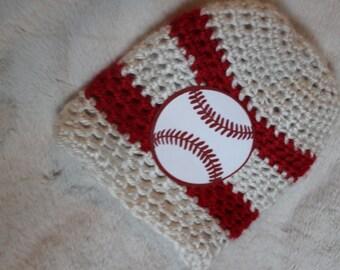 Baseball Baby Beanie