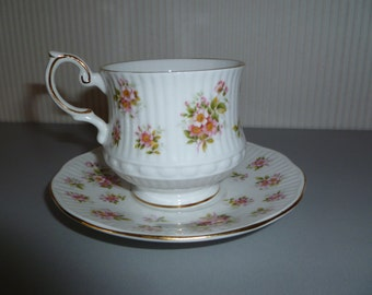 English porcelain cup and saucer