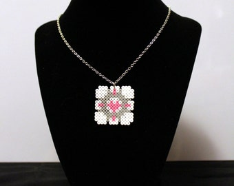 Portal Companion Cube Necklace