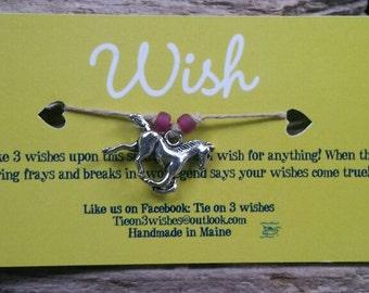 Horse Wish bracelet