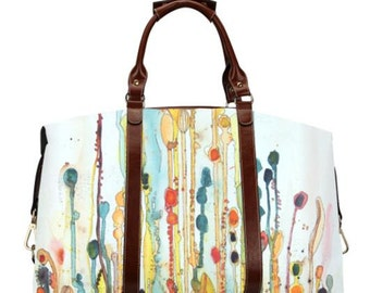 Wildflower Large Travel Bag
