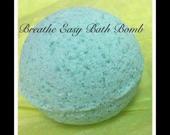 Large Breathe Easy Bath Bomb