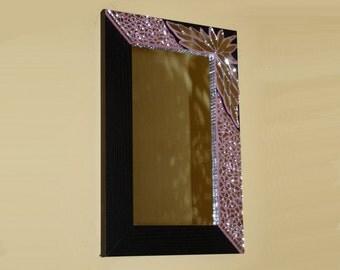 Mosaic Mirror, Wall Mirror, Handmade Mirror Frame, Decorative Mirror