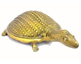 Brass Golden Tortoise
