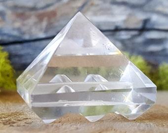 Crystal Quartz Vastu Pyramid Energy Generator~ 641