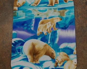 Mouse Pad Polar Bear Mouse Pad Antarctica Iceberg Polar Bears Fabric Mouse Pad Teacher Mouse Pad Animal Mouse Pad