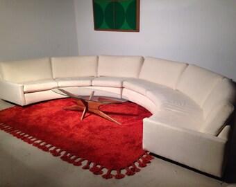 Milo Baughman for Thayer Coggin Circular Sectional Sofa