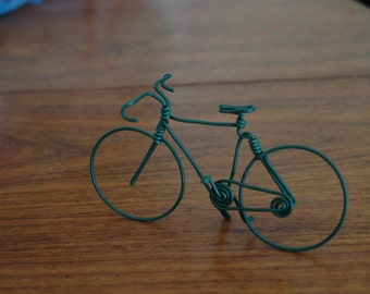 wire metal bicycle