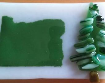 Oregon Evergreen Tree Magnet