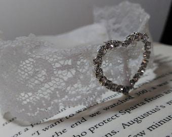 Bridal Lace Bracelet/Cuff