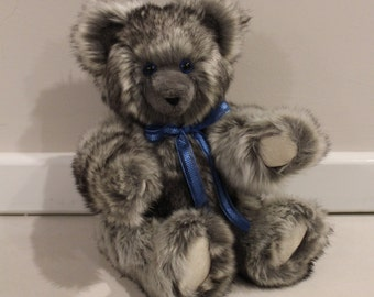 BENJAMIN - Teddy Bear, Handmade, Soft Toy, Stuffed Animals, Newborn Gift
