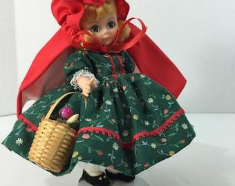 "Vintage Madame Alexander 8"" Doll Red Riding Hood 482"