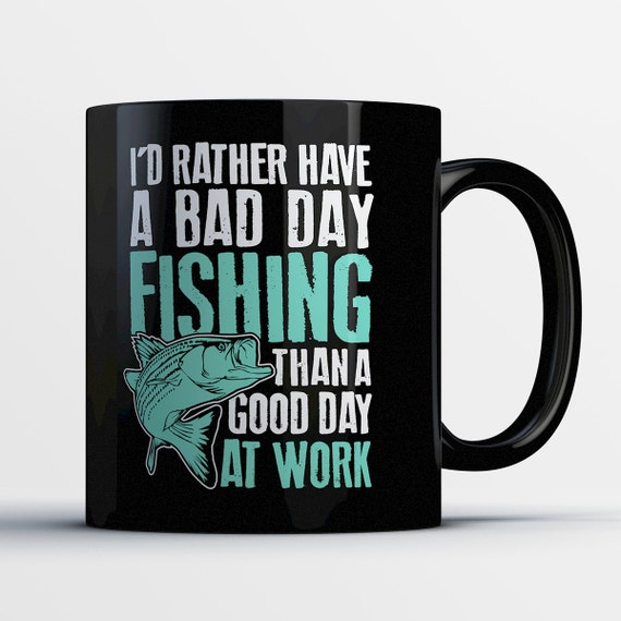 Funny fishing mug office gifts for fish lovers fishing for Gifts for fishing lovers