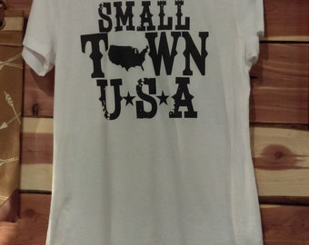 Small town USA tshirt