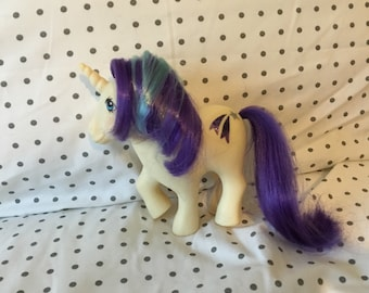Vintage My Little Pony - Unicorn Glory and Bonus pony